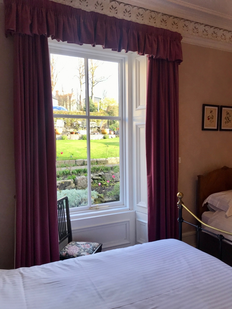 Family Room Garden Terrace View